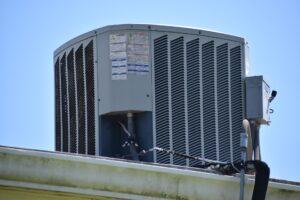 Houston commercial HVAC on roof
